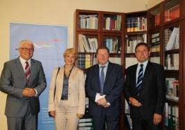 Minister Martina Münch w Polsce