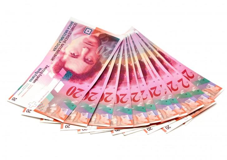 Szwajcarski Bank Narodowy wprowadza ujemne stopy procentowe