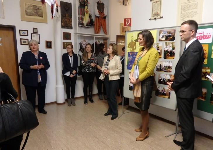 Wizyta austriackich nauczycieli w ambasadzie i polskiej szkole w Wiedniu
