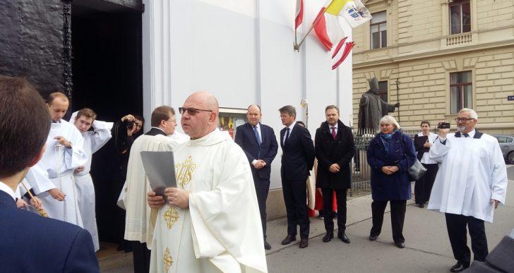 Wizyta Jana Dziedziczaka w Wiedniu