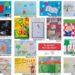 Dziecięce plakaty o czytaniu w Wiedniu