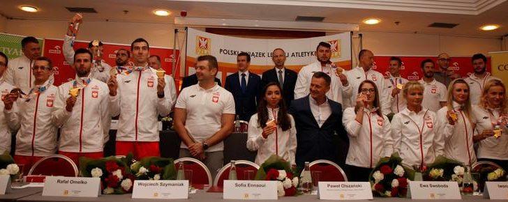 Medaliści Halowych Mistrzostw Europy już w Polsce